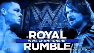Royal Rumble 2017 Full Match Card