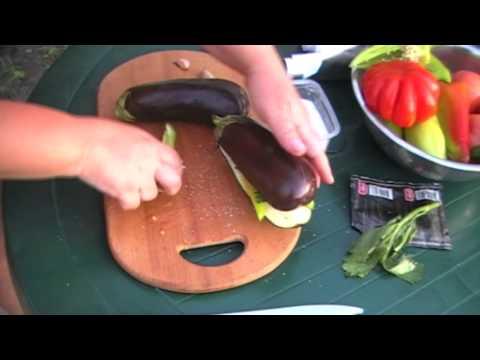 Как приготовить в фольге баклажаны на гриле