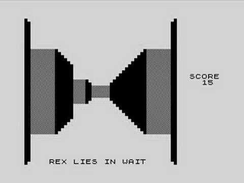 3d Monster Maze on the Sinclair Timex ZX81