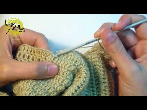 Tutorial Bolero Crochet English Subtitles