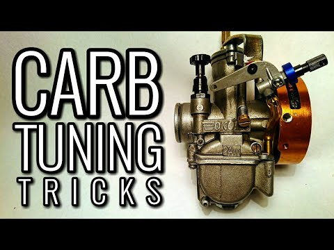 HOW TO TUNE YOUR CARB   Carburetor Tuning Tips And Tricks!   2/4 STROKE TUNING