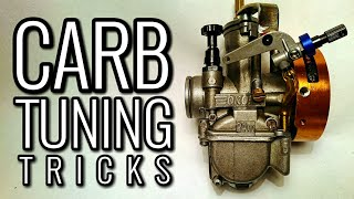 HOW TO TUNE YOUR CARB | Carburetor Tuning Tips And Tricks!