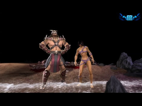 Mortal Kombat Komplete New Fatality + All Boss Fatalities on Mileena