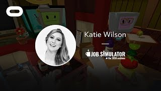 Job Simulator: The 2050 Archives   VR Playthrough   Oculus Rift Stream with Katie Wilson