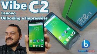 Vibe C2 - Um Smartphone surpreendente de 699 reais! Unboxing e Impressões em Português!