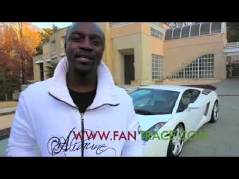 Akon's giving away his Lamborghini!!! Music Videos