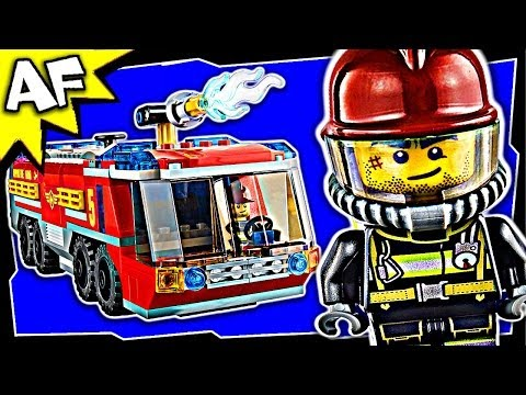 AIRPORT FIRE TRUCK Lego City 60061 Great Vehicles Building Set Review