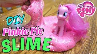 MY LITTLE PONY PINKIE PIE SLIME DIY!! 🦄 | Mommy Etc