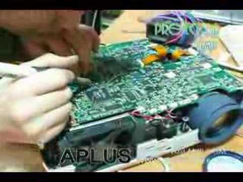 How to Repair mainboard of projector