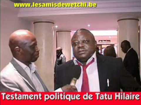 Testament politique de Tatu Hilaire