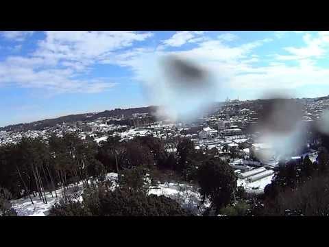 Heavy snow TOKYO 2014 Aerial photography 「大雪」東京