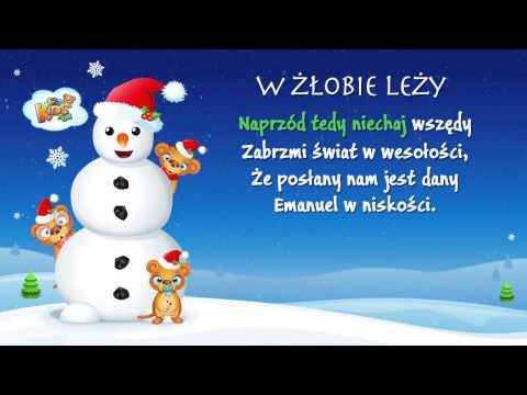 W Żłobie Leży - Polskie Kolędy - Karaoke
