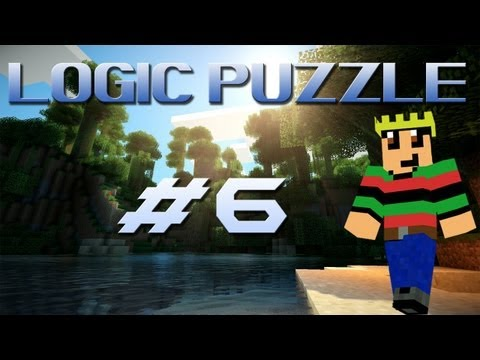 Minecraft Custom - #6 Logic Puzzle met David & Arjan