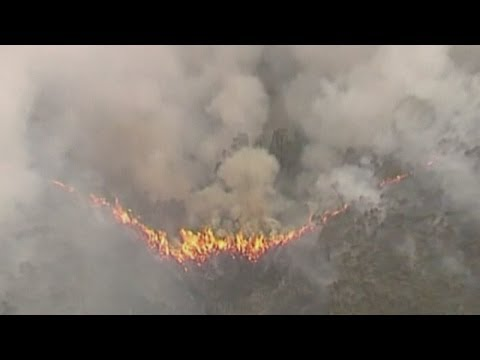 Australia wildfires: Firefighters prepare for worst