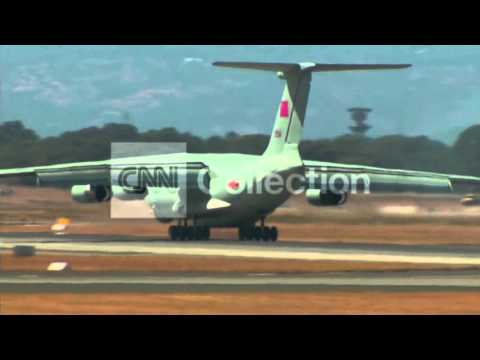 AUSTRALIA: MH370 SEARCH - CHINESE PLANE RETURNS