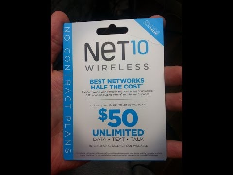 PrePaid Review: Net10 BYOP Review Part 1
