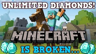 Minecraft Is A Perfectly Balanced Game With No EXPLOITS - Excluding Unlimited Diamonds Glitch