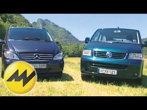 Mercedes Viano 220 CDI vs. VW T5 Multivan 2.5 TDI: Der Van-Vergleich