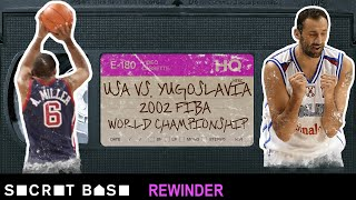 USA Basketball's shocking finish vs. Yugoslavia needs a deep rewind | 2002 FIBA World Championship