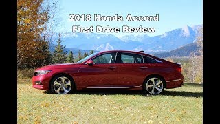 2018 Honda Accord - First Drive Review