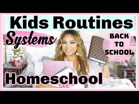 Kids Routines & Systems  Homeschool Organization
