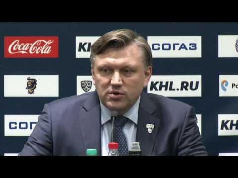 Сочи – Медвешчак. Пресс-конференция тренеров