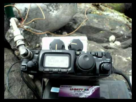 Faroe Islands OY1R to St Helena Islands ZD7FT qrp portable