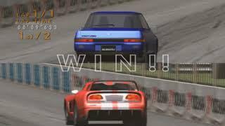 Sega GT 2002/Online Subaru Alcyone vs Dodge Viper Drag Race