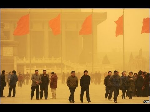 BRAKING NEWS : China Sandstorm Wreaks Havoc In Northwest