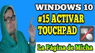 no funciona el touchpad windows 10