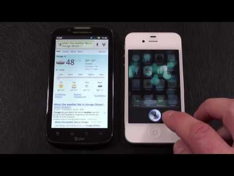 "Motorola Atrix 2 vs Apple iPhone 4S ""AT&T Face Off"""