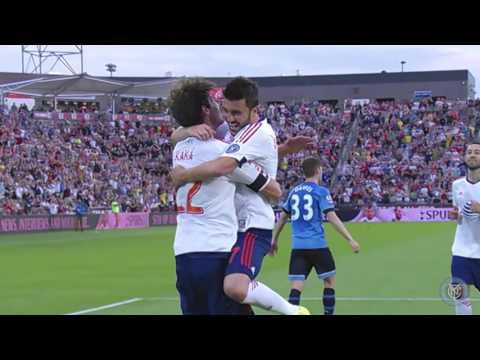 David Villa All 18 Goals New York City FC