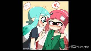 Inkling love (everytime we touch) yuri