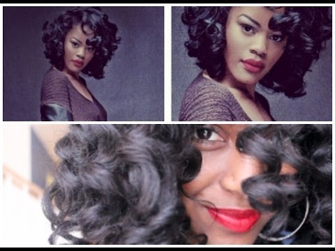 Teyana Taylor Inspired Heatless Curls with Entwine Couture