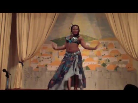 Thelma Rose Belly Dance performance In George South Africa August 2015