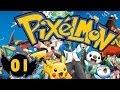 #01.[Série Minecraft] RATSUPER à L'ATTAQUE ! - PIXELMON / POKEMON MOD [HD-FR]