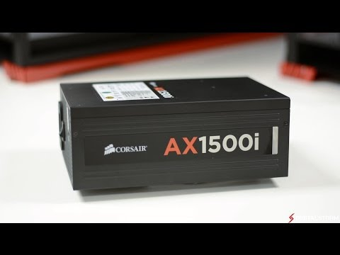Corsair AX1500i 1500w Power Supply Review and Unboxing