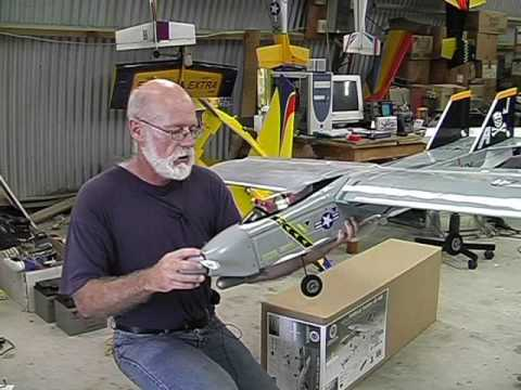 Building a pulsejet powered Tamecat World Models ARF RC plane