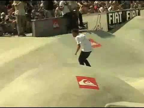 Rune Glifberg wins the 2007 Quiksilver Bowlriders in Sweden Video