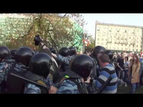 Болотная площадь - Разгон митинга. 6 мая 2012