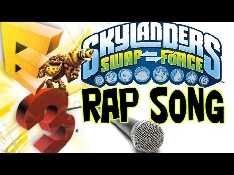 SwapForce Rap Song (E3 Skylander Dad wRap-Up) #YoMama