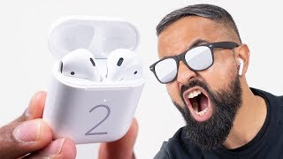 NEW AirPods 2 Unboxing - Best Wireless Earbuds?