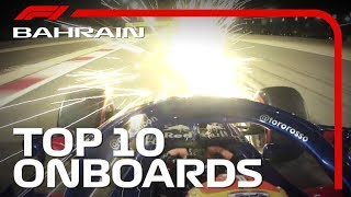 Top 10 Onboards | 2019 Bahrain Grand Prix
