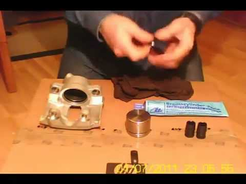 Ate Caliper Assembly Youtube