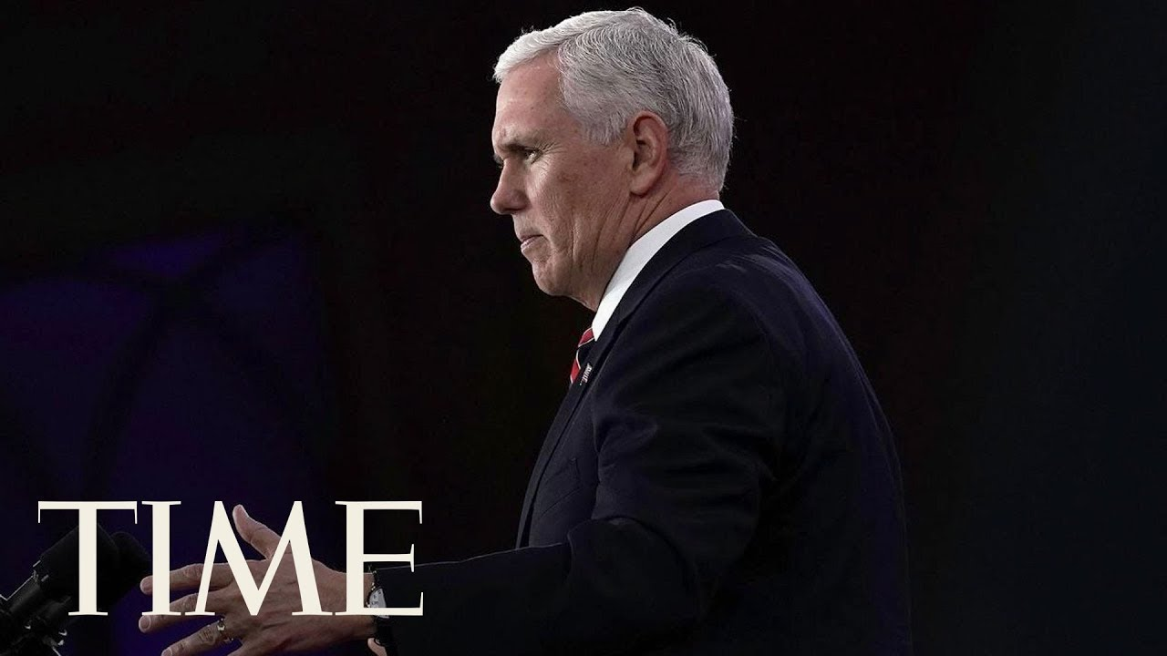 Mike Pence Addresses Olympics And North Korea At CPAC 2018: 'An Evil Family Clique' | TIME