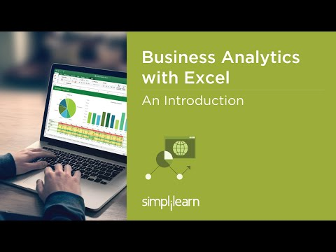 Introduction To Business Analytics With Excel Certification | Simplilearn