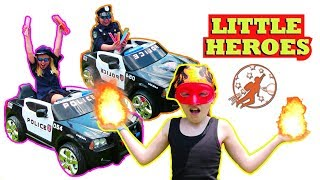 Little Heroes Season 4 - The Kid Police, The Nerf Wars and The Ice Cream Cart