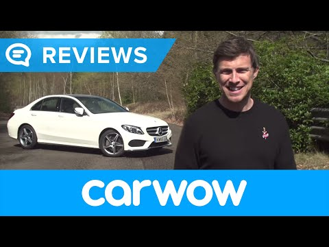 Mercedes C-Class Saloon 2017 review   Mat Watson Reviews