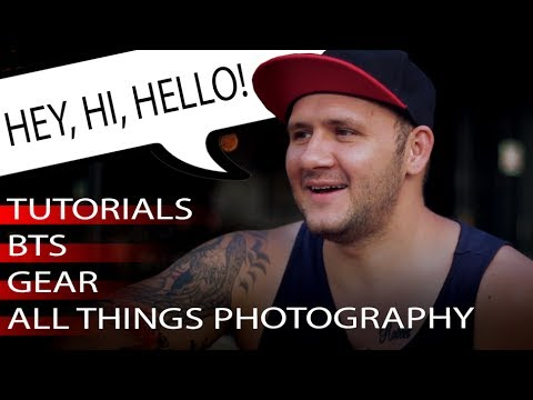 TUTORIALS ll BTS ll REVIEWS ll A WELCOME. HI FROM OPTICAL NOISE PHOTOGRAPHY