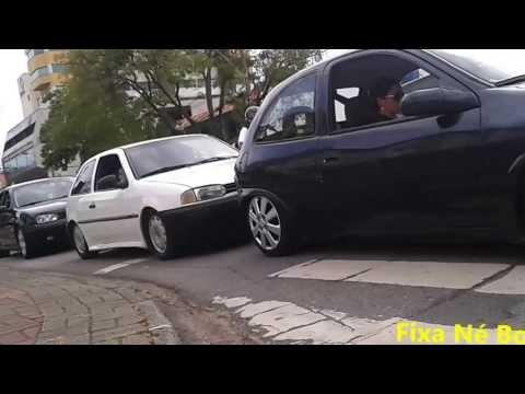 """Protesto em Blumenau  """"carro rebaixado não é crime"""""""